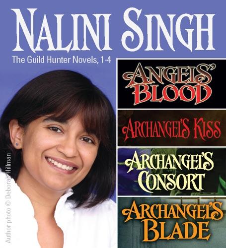Nalini Singh - Nalini Singh: Guild Hunters Novels 1-4