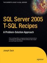 SQL Server 2005 T-SQL Recipes