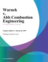 Warnek V Abb Combustion Engineering