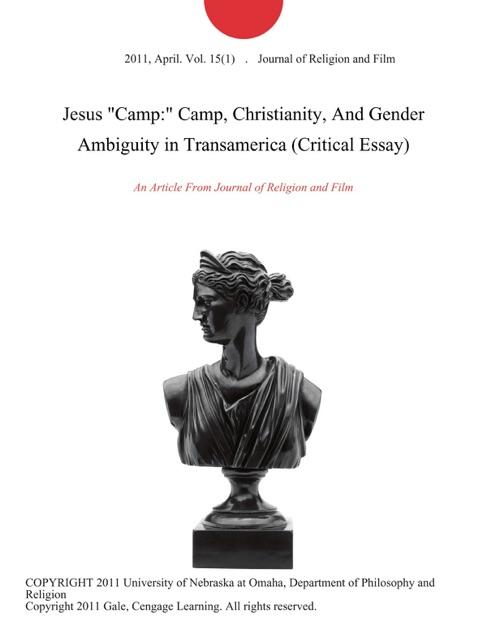 jesus camp essay