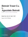 Detroit Trust Co V Agozzinio Detroit
