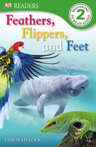 DK Readers: Feather, Flippers, and Feet (Enhanced Edition)