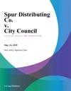 Spur Distributing Co V City Council