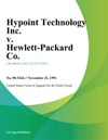 Hypoint Technology Inc V Hewlett-Packard Co