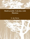 Multivariable Calculus With Maxima