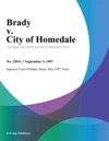 Brady V City Of Homedale