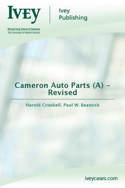 cameron auto parts