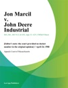 Jon Marcil V John Deere Industrial