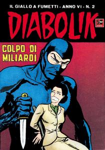DIABOLIK (78) Copertina del libro