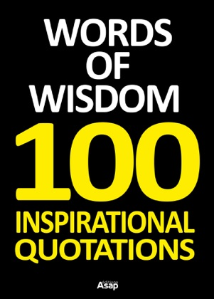 Words of Wisdom - 100 Inspirational Quotations book cover