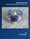 Beaded Pearl Ring Beading  Jewelry Making Tutorial Series T143