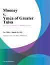 Mooney V Ymca Of Greater Tulsa