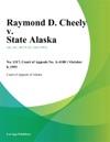 100893 Raymond D Cheely V State Alaska