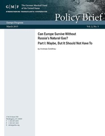 Can Europe Survive Without Russia S Natural Gas Part I