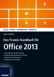 Das Franzis Handbuch für Office 2013 - Saskia Gießen & Hiroshi Nakanishi
