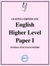 Leaving Certificate English Higher Level Paper 1 Exam Papers