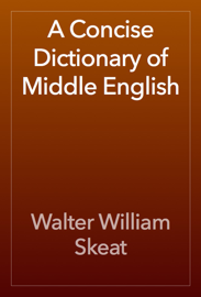 A Concise Dictionary of Middle English book