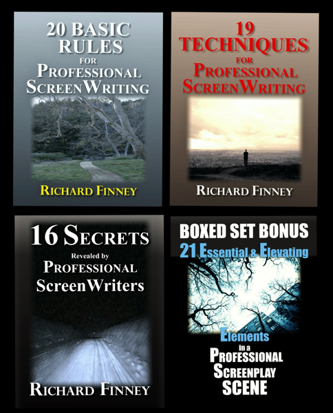 The Professional Screenwriter Boxed Set of Rules, Techniques, and Secrets