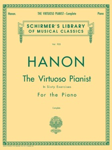 Hanon - Virtuoso Pianist in 60 Exercises - Complete Book Cover