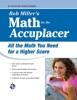 ACCUPLACER®: Bob Miller's Math Prep