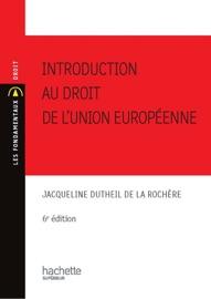 Introduction Au Droit De L Union Europ Enne 2010 2011