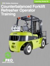 Counterbalanced Forklift Refresher Operator Training