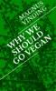 Why We Should Go Vegan