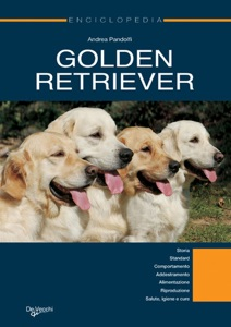 Golden Retriever. Enciclopedia Book Cover