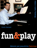 fun&play - Metodo per pianoforte Dalcroze Book Cover