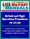 21st Century US Military Manuals Airfield And Flight Operations Procedures - FM 3-04300 - Combined Arms Construction Airfield Operations Battalions AOBS Installation Flight Operations