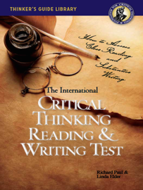 The International Critical Thinking Reading and Writing Test book