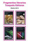 Fragmentos Literarios Tusquets Editores Otoo 2013