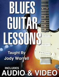 Blues Guitar Lessons book