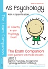 AQA A AS Psychology Unit 1  The Exam Companion  Questions And Model Answers