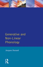 Download Generative and Non-Linear Phonology
