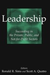 Leadership Succeeding In The Private Public And Not-for-profit Sectors