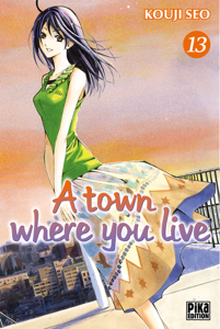 A town where you live T13 La couverture du livre martien