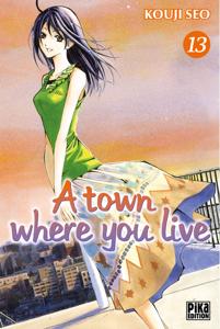 A town where you live T13 La couverture du livre martien