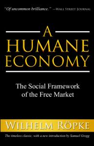 A Humane Economy Libro Cover
