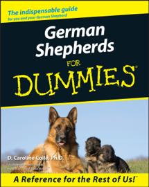German Shepherds For Dummies book