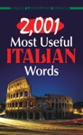 2001 Most Useful Italian Words