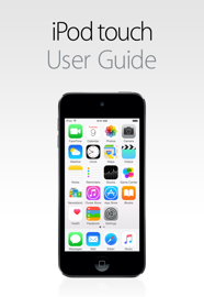 iPod touch User Guide for iOS 8.4 book