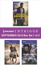 Harlequin Intrigue September 2015 - Box Set 1 Of 2