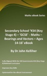 Secondary School KS4 Key Stage 4 - Maths  Bearings And Vectors  Ages 14-16 EBook