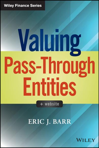 Valuing Pass-Through Entities