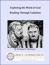 Exploring The Word Of God: Reading Through Galatians