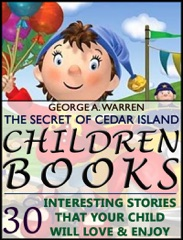 Childrens Books: The Banner Boy Scouts Afloat: The Secret of Cedar Island