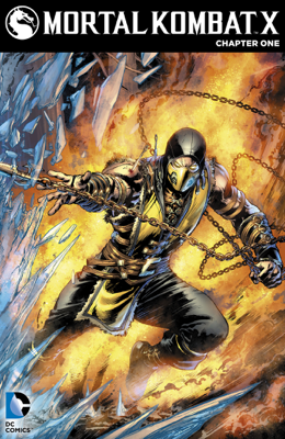 Mortal Kombat X (2015-) #1 - Shawn Kittelsen & Dexter Soy book
