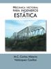 Mecánica Vectorial Para Ingenieros (Estática) - M.C. Carlos Alberto Velázquez Casillas