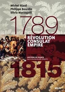 Révolution, Consulats, Empire. 1789-1815 La couverture du livre martien